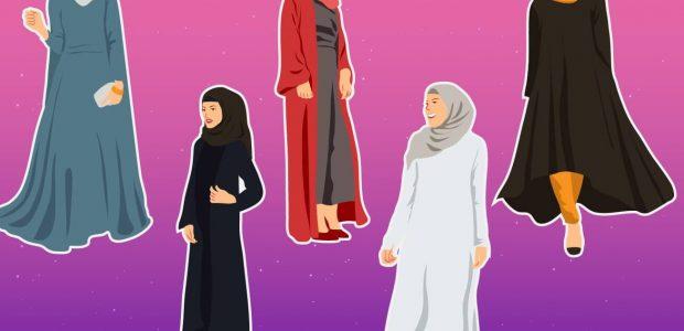 فساتين سهرة سواريه للمحجبات 2019